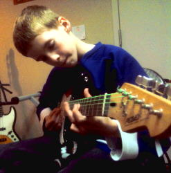 """I like the guitar lessons. I like them because I learned a lot more than I knew before."" - Ben P."
