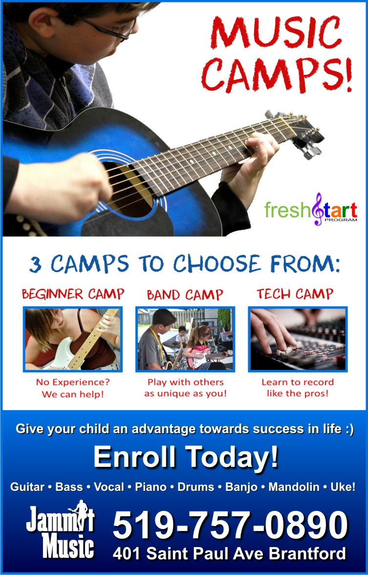 Register now for summer fun! A summer camp is the perfect way to try something new or enhance existing skills!